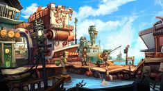 Screenshot from Chaos on Deponia
