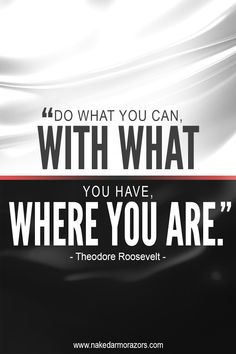 Do what you can with what you have, for where you are right now, is exactly where you need to be. You got this! ✊   #nakedarmor #wetshave #straightrazor #lifequotes #life #quote #quotes #motivationalquotes #motivation #quoteoftheday #qotd #inspirationalquotes #inspiration #inspirational #quotestoliveby #quotesaboutlife #quotesdaily #successquotes #lifelessons #dailyquotes