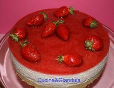 Cucina&Gianduia: Bavarese alle fragole con gelée alle fragole