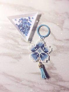 bead weaving patterns for bracelets Perler Bead Templates, Diy Perler Beads, Pearler Bead Patterns, Perler Bead Art, Bead Loom Patterns, Perler Patterns, Beading Patterns, Knitting Patterns, Art Patterns