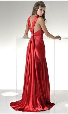 red prom dress pics