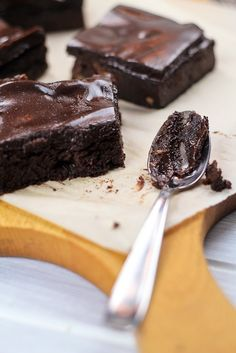 My Favorite Things: Deliciously Healthy Sweet Potato Brownies from The Healthy Foodie