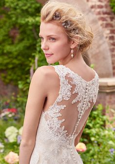 Rebecca Ingram Piper Sheath Wedding Dress