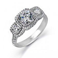 Simon G MR2080 Engagement Ring- Genesis Diamonds