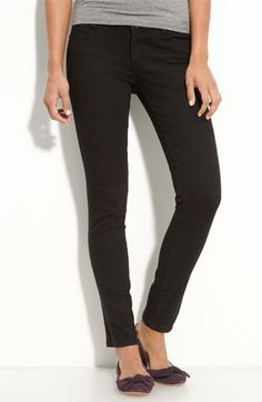 Currently wearing these black skinny jeans. Perfect for dressing up a more casual outfit.
