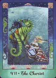 The Chariot - Faerie Tarot - Natalie Hertz - US Games 2008