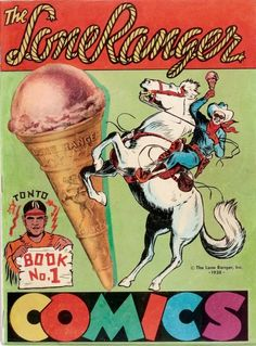 Lone Ranger Comics #1 (Lone Ranger Inc., 1939) This promotional book was the first Western comic devoted entirely to a single character.