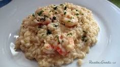 Rissotto con langostinos y cava Couscous, Rice Recipes, Mashed Potatoes, Grains, Cooking, Healthy, Ethnic Recipes, Albondigas, Food