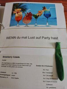 Wenn du mal Lust auf Party hast