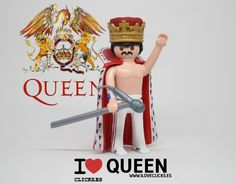 Pin by Nelson on Playmobil Music Freddie Mecury, Freddie Mercury Quotes, Living Dead Dolls, Toy Display, Queen Band, I Am A Queen, Arte Pop, Old Toys, Jouer