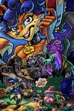 Sly Cooper. One of my favorite series.