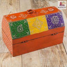 Rusticity Decorative Box Jewelry Organizer