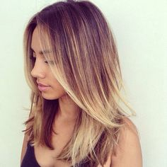 Yes to Ombre - when you don't want to commit completely to blond locks