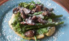 bloemkooltortilla @foodblogswap. Heerlijk!