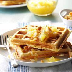 Breakfast Dishes, Breakfast Time, Breakfast Casserole, Breakfast Recipes, Breakfast Ideas, Brunch Dishes, Breakfast Pancakes, Breakfast Bars, Waffle Recipes