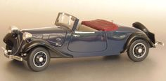 1938 Citroen Traction Type 11CV Cabriolet 1911ccm/4Cyl 45-63hp 1934-1957
