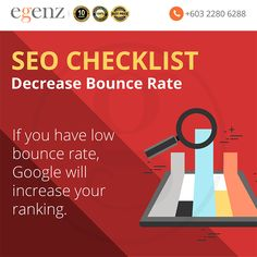 Eliminate the point that: the visitor didn't find what they are looking for And, the webpage was not friendly Will decrease your bounce rate and increase your ranking with search engine. Bounce Rate, Seo Ranking, The Visitors, Search Engine, Things That Bounce