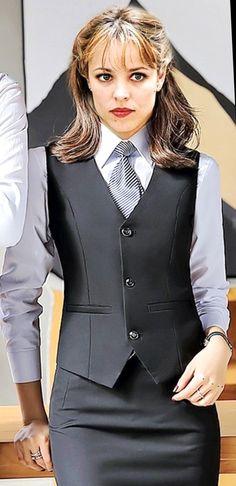 Women Wearing Ties, Women Ties, Satin Shirt, Collar Blouse, Blazer, How To Wear, Jackets, Shirts, Fashion
