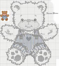 Cross Stitch: Ursinhos
