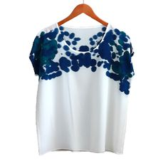 Shoulder Ink Silk Tee
