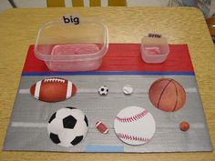 K1MDM4. In this activity students can choose the small balls and the big balls.