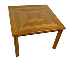 Danish Teak Coffee Table By Ansager Mobler, $320.00