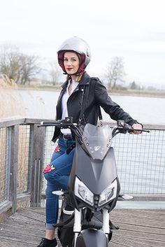 On peut garder le sourire avec un scooter 100% électrique !