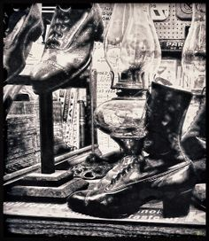 http://fineartamerica.com/profiles/douglas-moorezart.html?tab=artworkgalleries A modern graphic view of Turn of the Century Footwear. Here we have both ladies and gentlemen's footwear along with Turn of the Century Lamps. http://fineartamerica.com/featured/time-travel-by-foot-douglas-moorezart.html?newartwork=true