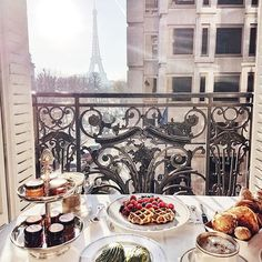 paris, food, and breakfast kép