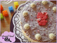 Hello Kitty - Angel Food Cake
