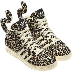 Jeremy Scott Adidas Sneakers. I'd love to wear these tails!