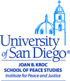 Joan B. Kroc Institute for Peace and Justice at University of San Diego, CA. School of Peace Studies. Fostering Peace, Cultivating Justice, Creating a Safer World . Local Programs: Women PeaceMakers, WorldLink connecting youth to Global Affairs, and Distinguished Lecture Series. In the Field with International PeaceBuilding Initiatives.