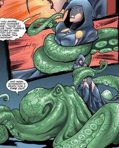 Beast Boy ties up Raven DC Comics BBRae.png