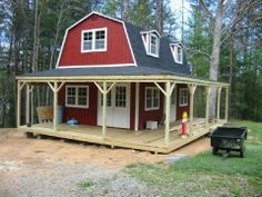 Best ideas for storage shed cabin conversion - Tiny house cabin - Shed To Tiny House, Tiny House Cabin, Tiny House Living, Tiny House Design, Barn House Plans, Small House Plans, Shed Cabin, Diy Cabin, Diy Shed Plans