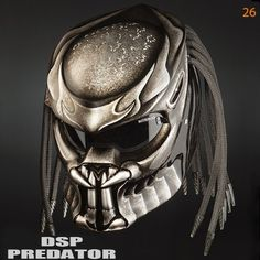 Predator helmets Basic Helmet NHK (Full Face) Surely that& been with the National Indonesia (SNI) Additional accessories such as Laser with on & off switch is up to 30 meters. Dirt Bike Helmets, Half Helmets, Biker Helmets, Predator Helmet, Predator Art, Volkswagen Touran, Motorcycle Events, Motorcycle Art, Tie Dye Outfits