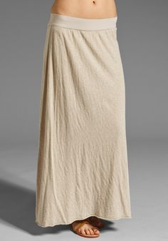 AMERICAN VINTAGE Long Skirt in Sand Melange at Revolve Clothing - Free Shipping!