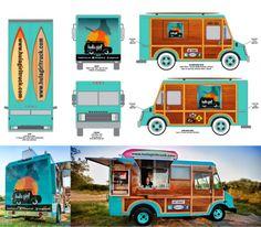 Hula Girl #foodtruck branding
