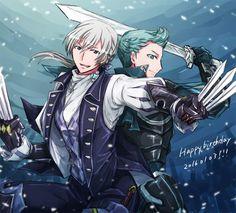 Fire Emblem: Fates - Jakob and Silas