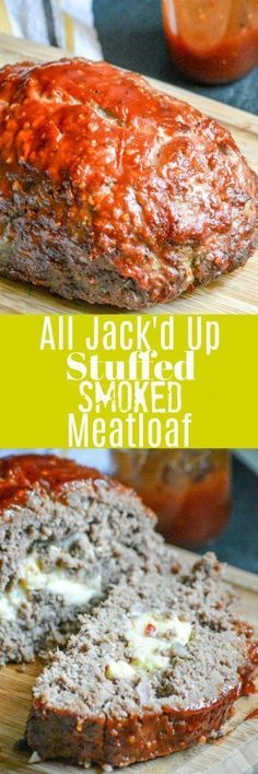 Your Grandmama's meatloaf gets a make-over in this All Jack'd Up Stuffed Smoked Meatloaf version. Wood smoke-infused meat, hiding a melted center of ooey-gooey pepper jack cheese, and smothered in a slightly spicy, bold Jack Daniels sauce– it's a meat lover's dream come true in every bite.