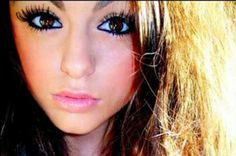 Look at her eyes