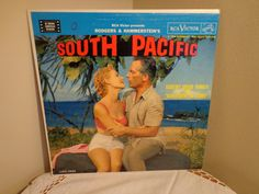 South Pacific Vinyl Record Vintage Musical Rodgers and Hammerstein Presentation on Vintage Vinyl RecordRCA Victor Record1958