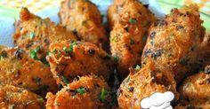 Culinarista Mauro Rebelo    Ingredientes: 750g bacalhau 1kg batata cozida e amassada 50g salsa picadinha 4 dentes de alho amassados 1 ce...
