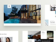 Real Estate Homepage designed by Rui Guerra for Duall Studio. Connect with them on Dribbble; Wordpress Landing Page, Creative Web Design, Homepage Design, Office Signs, Layout, Real Estate Agency, Website Design Inspiration, Peterborough, Townhouse