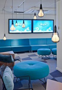 Conference room at Skype office