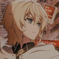 Aesthetic Japan, Aesthetic Anime, Anime Guys, Manga Anime, Mika Hyakuya, Best Anime Drawings, Kagami Kuroko, Vampire Boy, Otaku