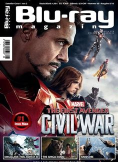The First Avenger. Gefunden in: Blu-ray Magazin - epaper, Nr. 8/2016