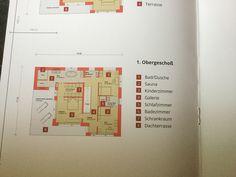 Grundriss Obergeschoss RHZ Sauna, Travel, Rooftop Terrace, Floor Layout, Viajes, Destinations, Traveling, Trips