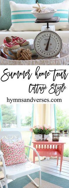Summer Home Tour Cottage Style