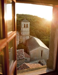 Bedarieux Apartment Rentals in France | 2 Bedroom Apartment Within Rare Historic Chateau (L'appartement des Seigneurs) #france #rustic #view #church #holidayrental