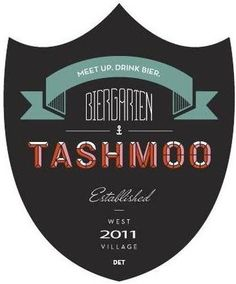 Tashmoo Biergarden, Detroit. Dying to try this place.
